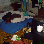 Teenagers Clutter Management